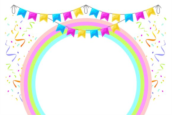Print on Demand: Birthday Banner Template Graphic Illustrations By edywiyonopp