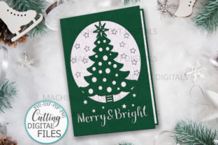 Christmas Card Cut out Papercut Card Graphic Crafts By Cornelia