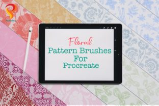 Floral Pattern  Brushes  Procreate Graphic Brushes By PoyJazz