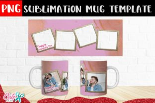 Pink and Gold Couple Frames Sublimation Graphic Print Templates By Cute files