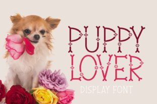 Print on Demand: Puppy Lover Display Font By Jasm (7NTypes)