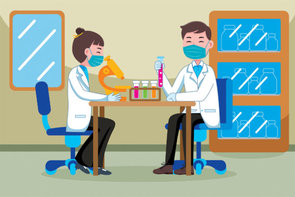 Scientist Profession Graphic Illustrations By medzcreative