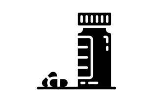 Print on Demand: Pills Graphic Icons By khld939