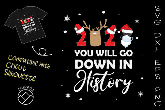 Print on Demand: 2020 You Will Go Down in History Graphic Crafts By Chippoa