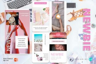 Instagram Story Template - NEWBIE Graphic Graphic Templates By 57creative