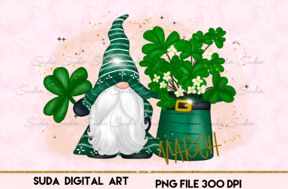 Print on Demand: March Calendar Design Sublimation Graphic Illustrations By Suda Digital Art