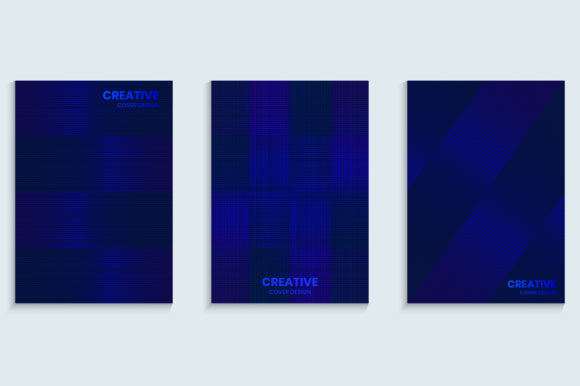 Shiny Bright Blue Cover Background Graphic Backgrounds By medelwardi