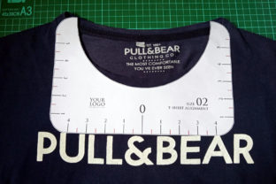 Print on Demand: T-Shirt Alignment Tool - 4 Size Variation Graphic Crafts By Home Crafter Design.co 7