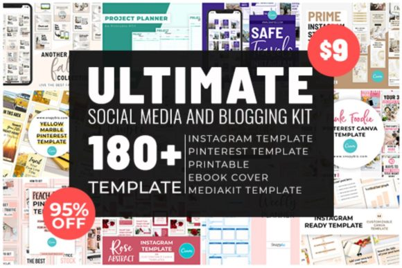 Print on Demand: Ultimate Social Media and Blogging Kit  By SnapyBiz