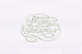 Merry Christmas Christmas Embroidery Design By DigitEMB