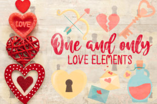 One and Only, Love Elements Graphic Crafts By Firefly Designs