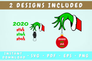 Print on Demand: 2020 Stink Stank Stunk - 2 Designs Graphic Illustrations By HappyDesignStudio