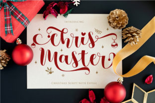 Print on Demand: Chris Master Script & Handwritten Font By Gilar Studio