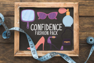 Confidence Fashion Pack Graphic Crafts By Firefly Designs