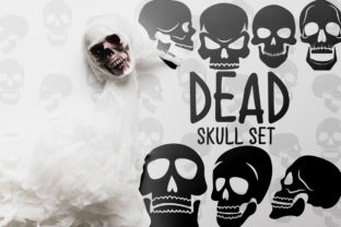 Dead Skull Set Graphic Crafts By Firefly Designs