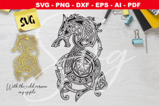 Print on Demand: DnD Celtic Dragon and Dice Graphic Crafts By Novart