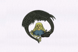 Mother of the Dragons Design Asia Embroidery Design By DigitEMB