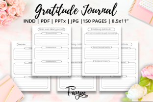 Print on Demand: Positivity Diary & Gratitude Journal KDP Graphic KDP Interiors By Fayne 4