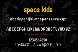 Print on Demand: Space Kids Display Font By NeutroneLabs 7