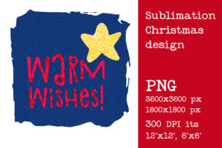 Print on Demand: Sublimation Christmas Design. Wish Graphic Crafts By KundolaArt