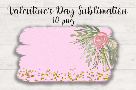 Sublimation Valentines Day Background Graphic Download