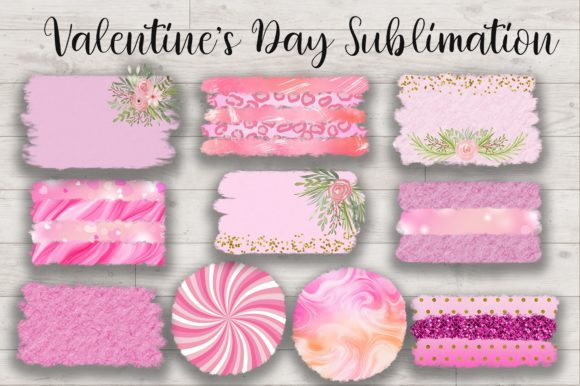 Sublimation Valentines Day Background Graphic Item