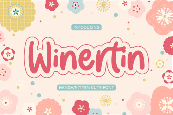 Print on Demand: Winertin Script & Handwritten Font By Typefar