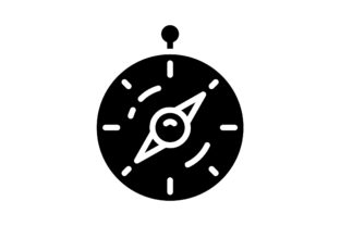 Print on Demand: Compass Graphic Icons By khld939
