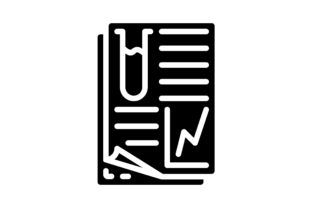 Print on Demand: Science Report Graphic Icons By khld939