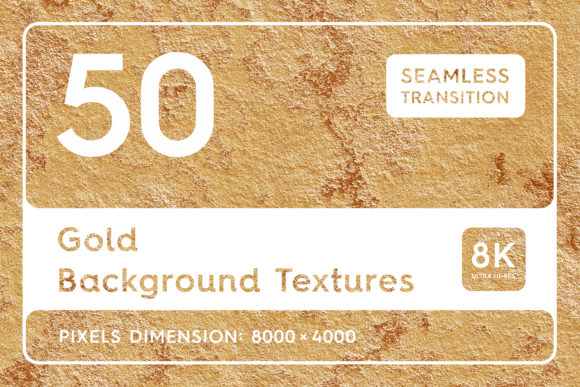 50 Gold Background Textures Graphic