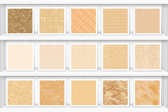 50 Gold Background Textures Graphic Preview