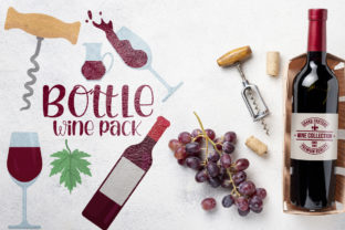 Bottle Wine Pack Graphic Crafts By Firefly Designs