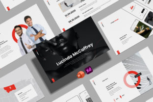 PowerPoint Animated Template - NEGUN Graphic Presentation Templates By mnmlagencycom