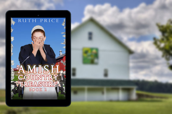 Amish White Barn Book Cover Mockup Graphic Product Mockups By Bella Breen