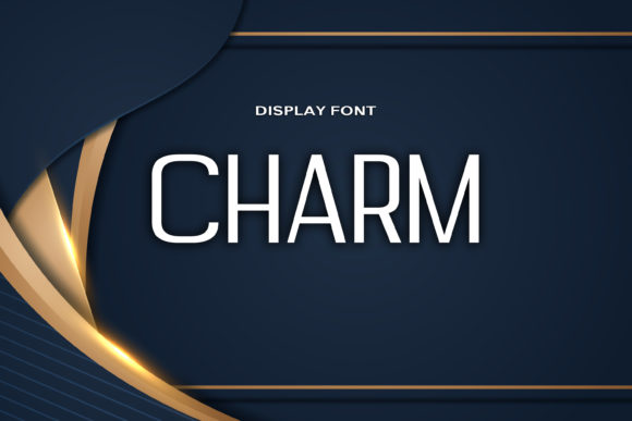 Print on Demand: Charm Display Font By DmDesignsStoreArt