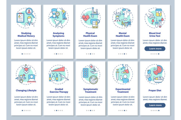 Print on Demand: Chronic Fatigue Syndrome Diagnostics Graphic Graphic Templates By bsd studio