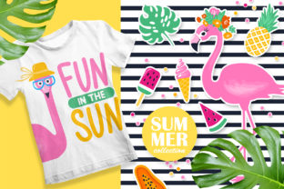Fun Summer Illustrations! Graphic Illustrations By yana26789