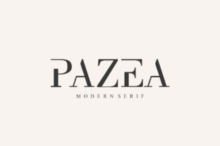Print on Demand: Pazea Serif Font By Vroz Studio