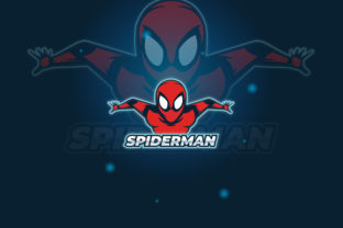 Print on Demand: Spiderman Logo E-Sport Gaming Gráfico Logos Por The1stWinner