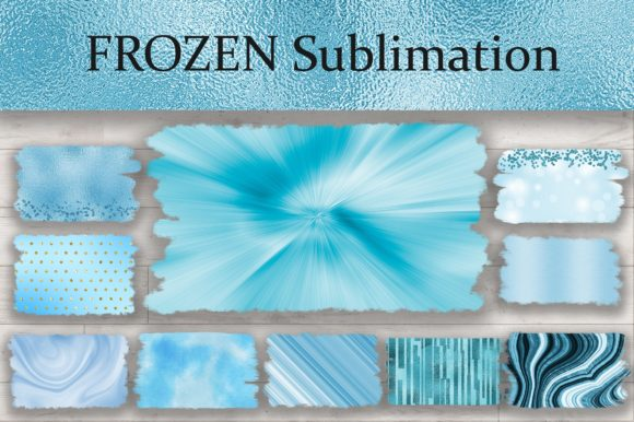 Sublimation Frozen Background Graphic Backgrounds By PinkPearly