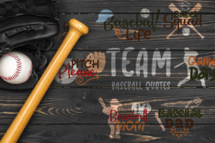 Team Baseball Quotes Graphic Crafts By Firefly Designs