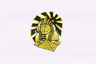 The Great Pyramids Design Africa Embroidery Design By DigitEMB