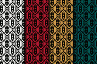 Print on Demand: Flat Pattern Square Circle Element Graphic Patterns By noory.shopper