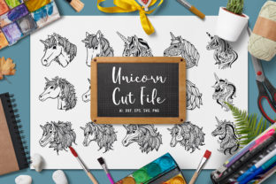 15 Variant Unicorn Designs Graphic Crafts By AllmoStudio