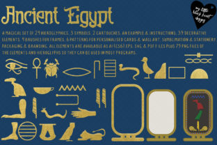 Ancient Egypt Graphic Illustrations By My Little Black Heart