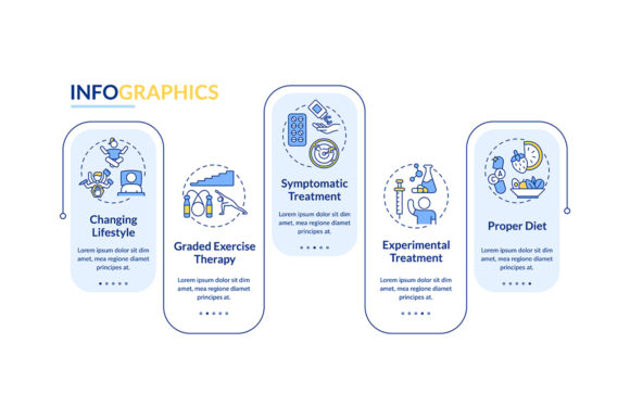 Print on Demand: CFS Therapy Vector Infographic Template Graphic Infographics By bsd studio