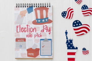 Election Day Vote Pack Graphic Illustrations By Firefly Designs