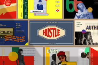 Hustle Powerpoint Template Graphic Presentation Templates By luckysign