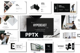 Hypebeast Powerpoint Template Graphic Presentation Templates By luckysign