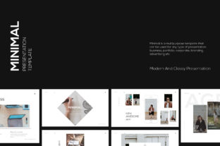 Minimal Keynote Template Graphic Presentation Templates By luckysign